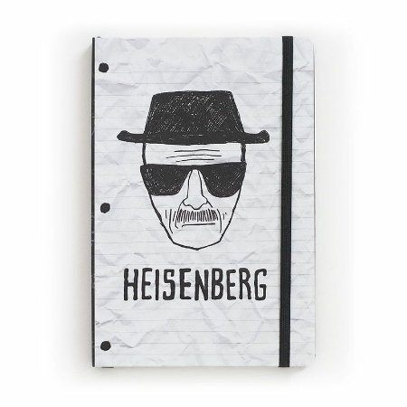 Caderno de Notas Desenho Heisenberg Breaking Bad