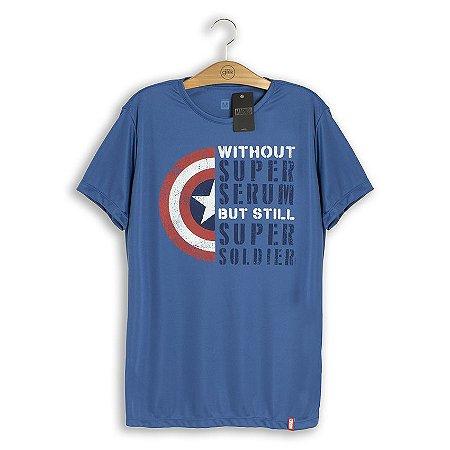Camiseta Dry Fit Marvel Super Soldado