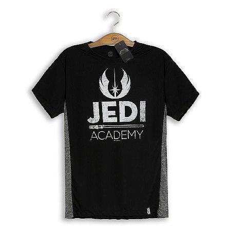 Camiseta Dry Fit Star Wars Jedi Academy