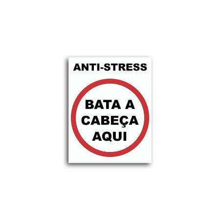 Placa Anti-Stress