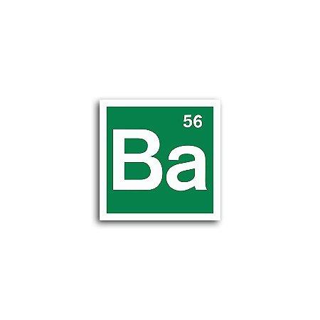 Placa Breaking Bad Bário