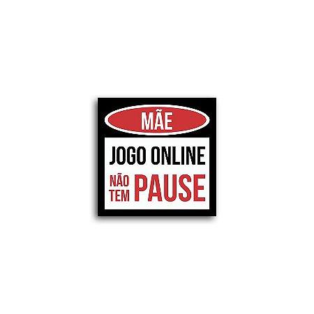 Placa Mãe Jogo Online Não Tem Pause
