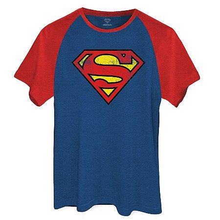 Camiseta DC Superman Logo Clássico