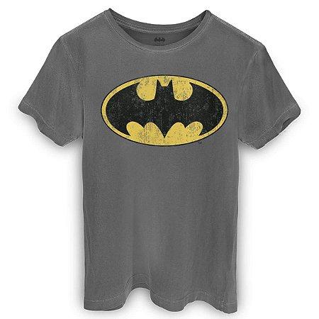 Camiseta DC Batman Logo Clássico