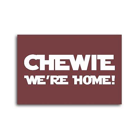Capacho Chewie We're Home!