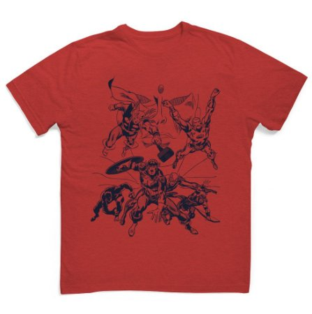 Camiseta Marvel Comics Avengers