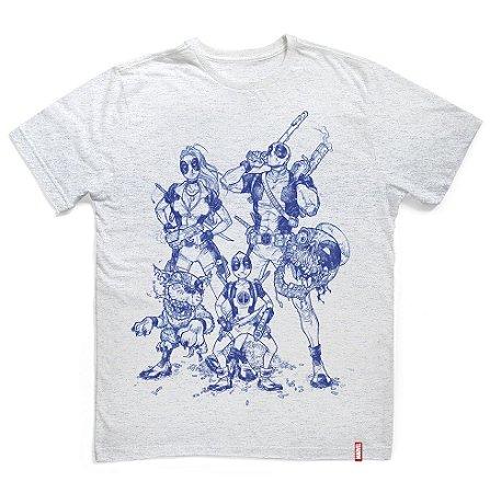 Camiseta Deadpool Family