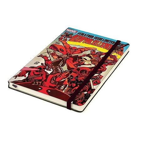 Caderno de Notas Marvel Deadpool Cover Art