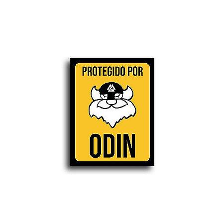 Placa Protegido Por Odin