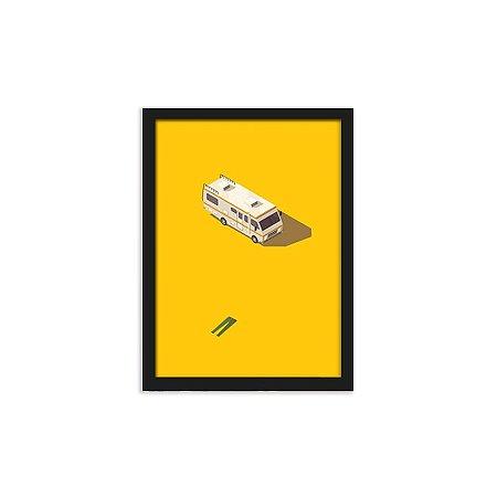 Quadro Breaking Bad Trailer - 20x30cm