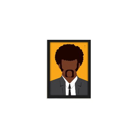 Quadro Pulp Fiction Jules Winnfield - 15x21cm