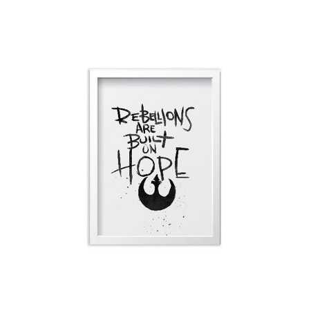 Quadro Star Wars The Rebellion - 20x30cm