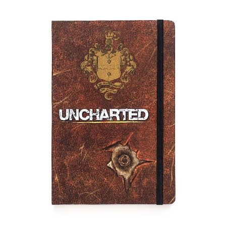 Caderno de Notas Uncharted Playstation