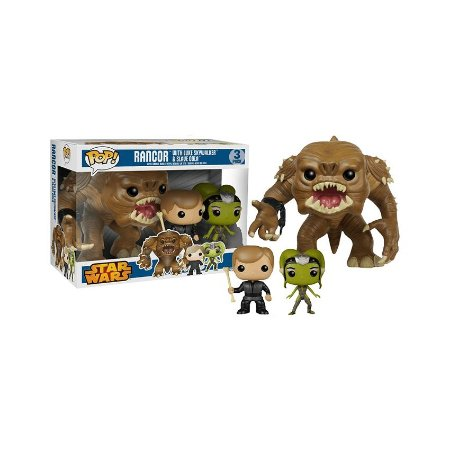 Pack Rancor Lule Skywalker & Slave Oola - Star Wars - Pop! Funko