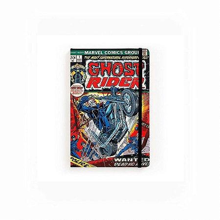 Caderno de Notas Pocket Ghost Rider #01 Marvel (Pequeno)