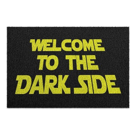Capacho Vinil Welcome To The Dark Side