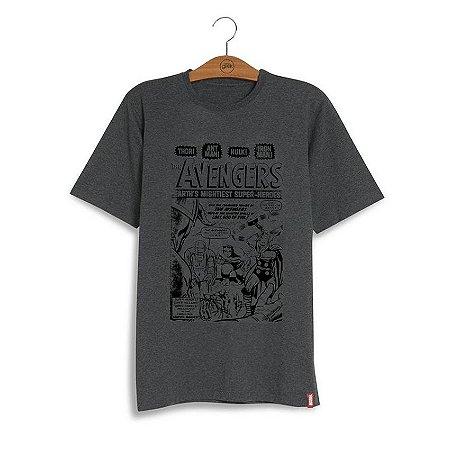 Camiseta Marvel Avengers Vintage - A melhor loja de produtos geek ... 96628a70cf37e