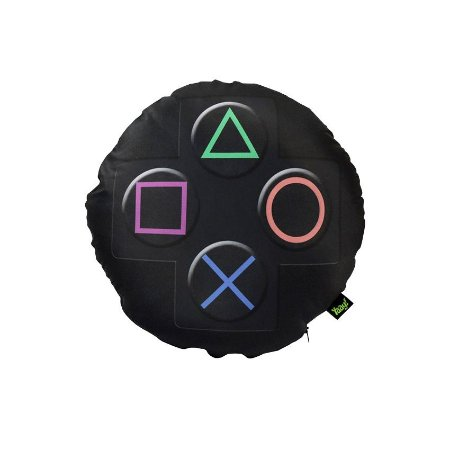 Almofada Redonda Joystick Playstation