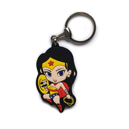 Chaveiro Cute Wonder Woman