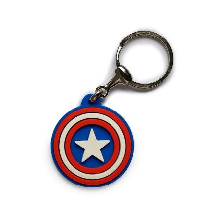 d2a13216ad6 Chaveiro Cute Escudo Capitão América - A melhor loja de produtos ...