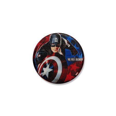 Botton Capitão América O Primeiro Vingador