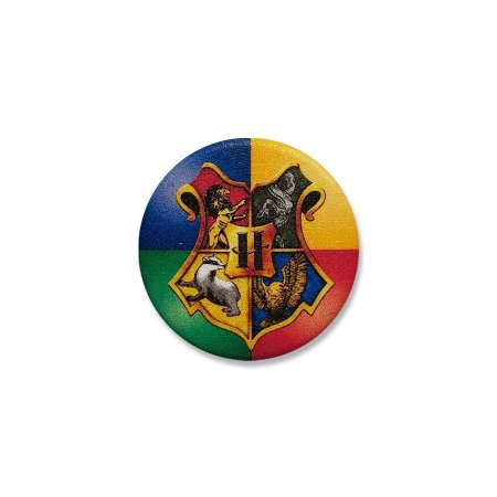 Botton Harry Potter Hogwarts Casas
