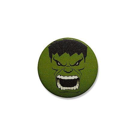 Botton Hulk Face