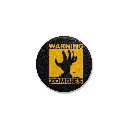 Botton Warning Zombies