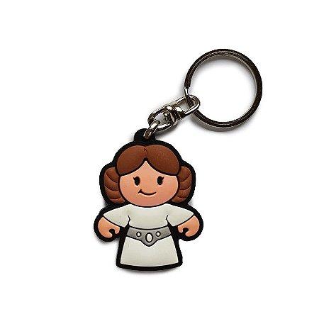Chaveiro Cute Leia