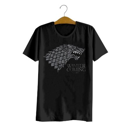 Camiseta Game Of Thrones Stark Logo
