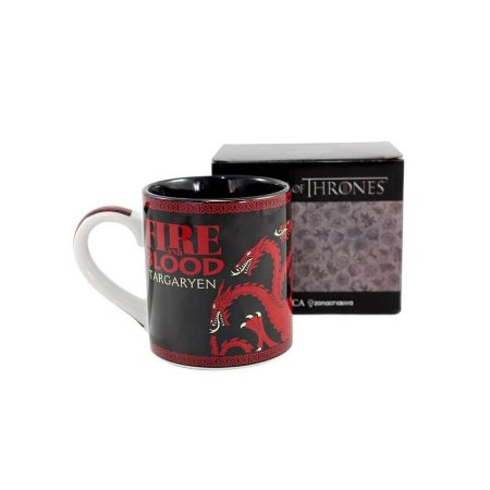 Caneca Game Of Thrones Targaryen Fire And Blood