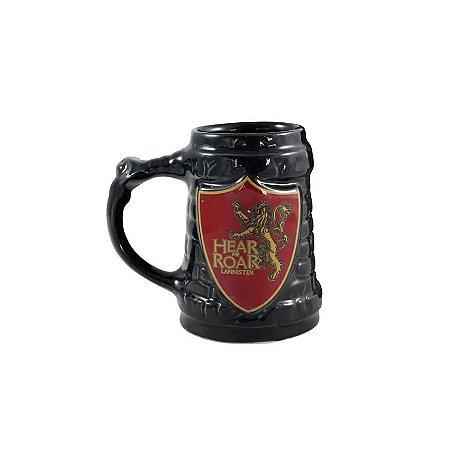 Caneca 3D Game Of Thrones Lannister Escudo