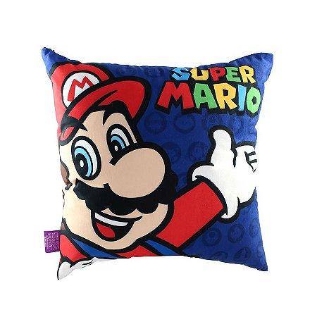 Almofada Mario e Luigi