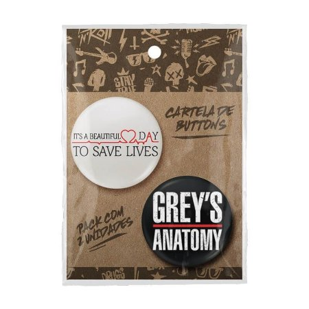 Pack Bottons Greys Anatomy