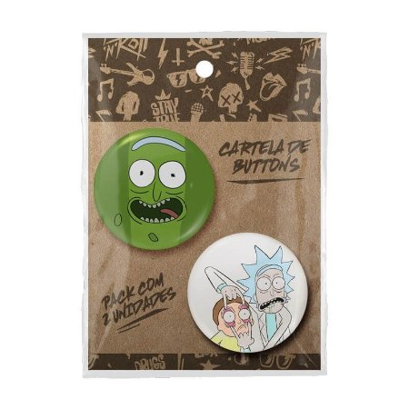 Pack Bottons Rick And Morty
