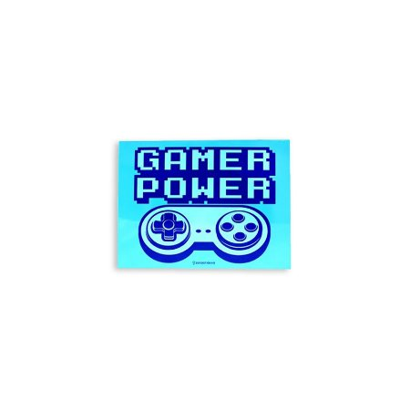 Placa Gamer Power Azul