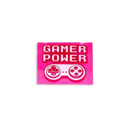 Placa Gamer Power Rosa