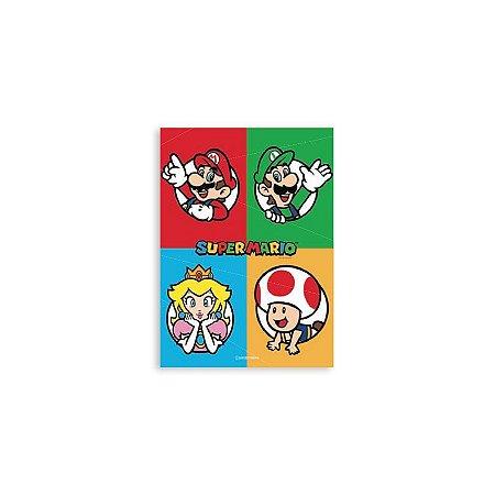 Placa Mario Personagens