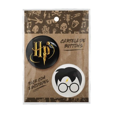 Pack Bottons Harry Potter