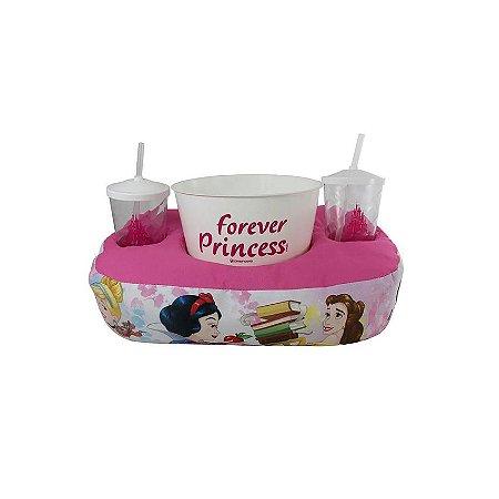 Kit Almofada Porta Pipoca Princesas Disney