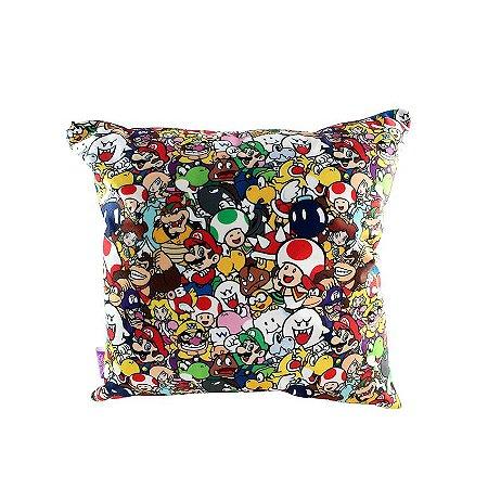 Almofada Super Mario Personagens