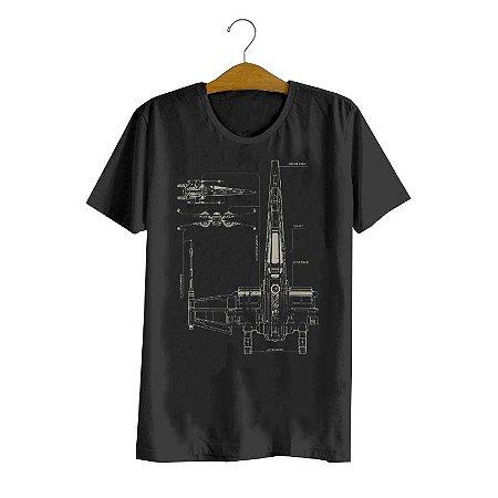 Camiseta X-Wing Project