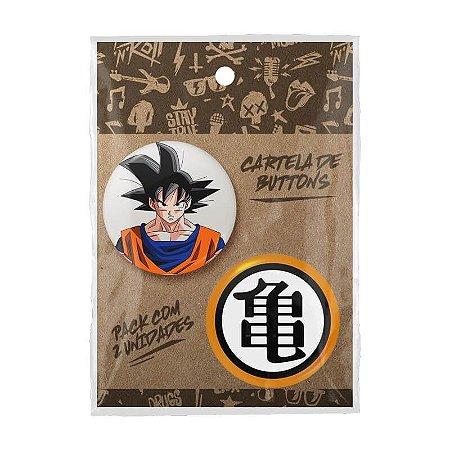 Pack Bottons Dragon Ball Goku