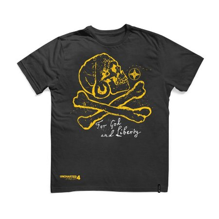 Camiseta Uncharted For God And Liberty