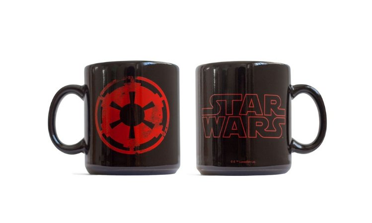 Caneca Star Wars Logo Imperio