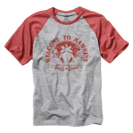 Camiseta Stranger Things Welcome To Hawkins