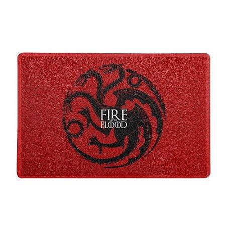 Capacho Vinil Targaryen Fire And Blood