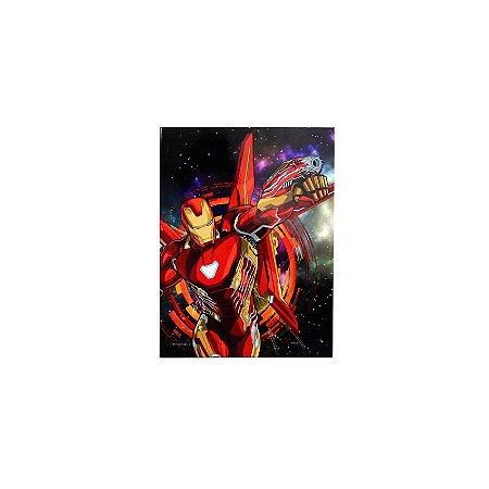Placa Iron Man Space