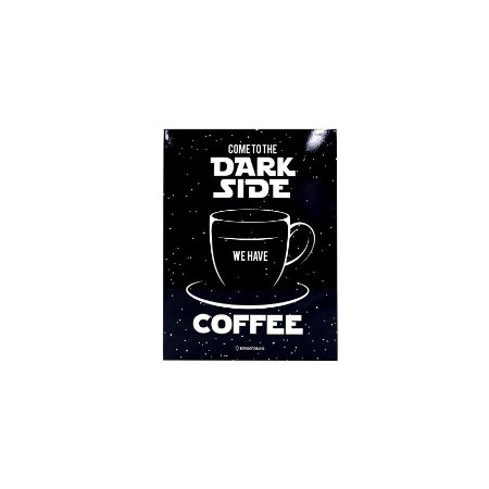 Placa Dark Side Coffee
