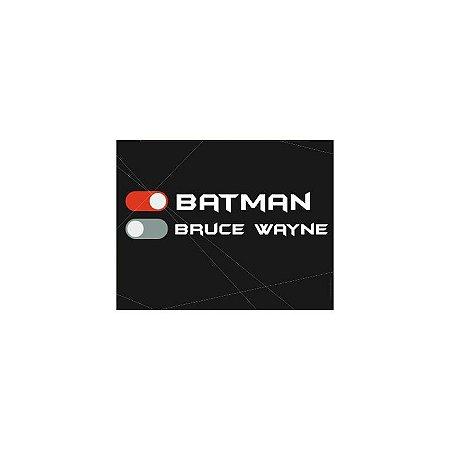 Placa Modo Batman Bruce Wayne